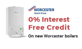 0% interest free credit on new bosh boilers