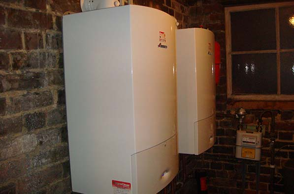 Two boiler installations