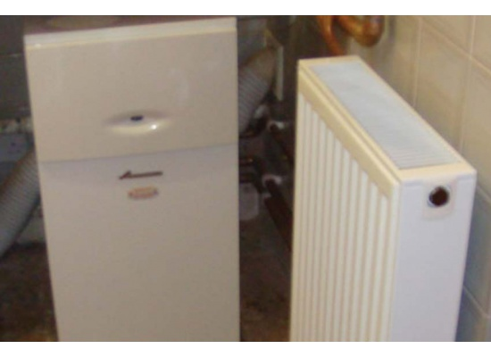 Radiator and boiler in Kent