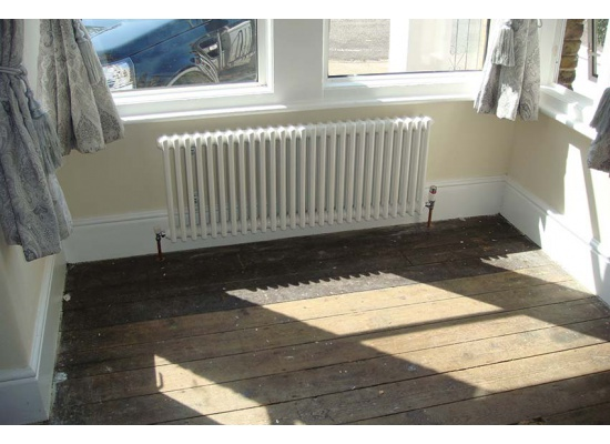 White radiator in Dover